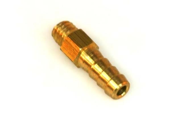 Einschraubstutzen M6 6kant D6mm L23mm