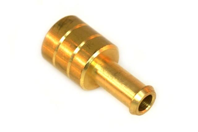 Schlauchkupplung D16mm D8mm (Messing)