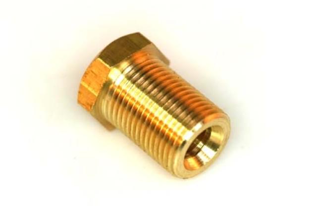 Einschraubstutzen Messing M12x1 D6mm L 20mm