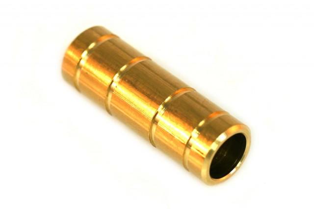 Schlauchkupplung D15mm D15mm (Messing)
