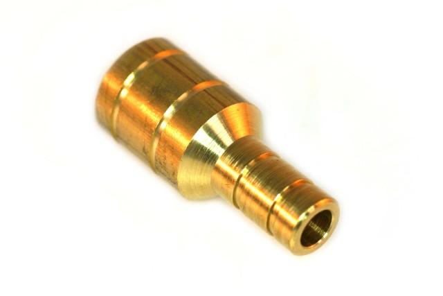Schlauchkupplung D19mm D11mm (Messing)