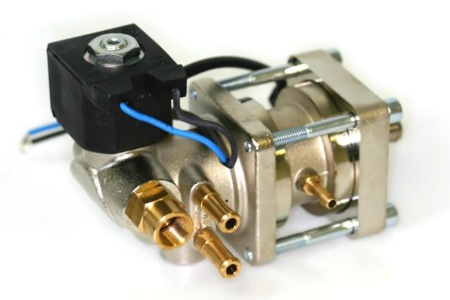 Bigas CNG Druckregler RI27-J (bis 200KW) mit Abschaltventil