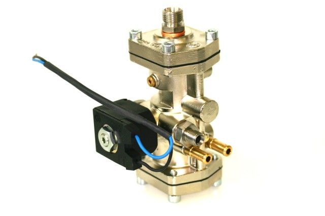 Bigas CNG Druckregler RI27-C3 Citroen C3 mit Abschaltventil  (bis 150KW)