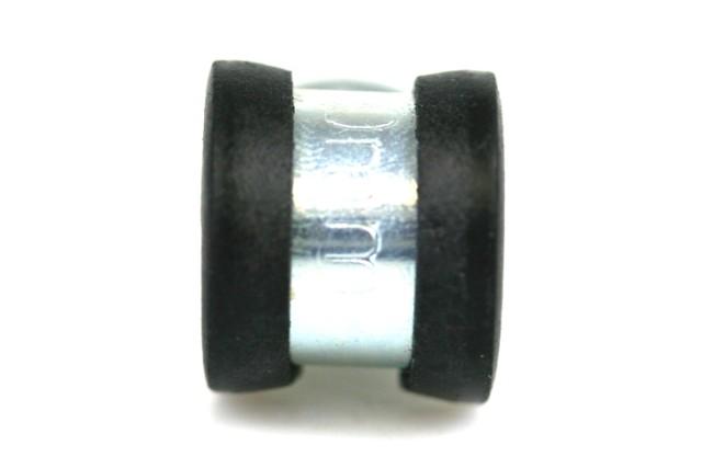 Rohr- & Befestigungsschelle B12mm d.10mm, isoliert (W1)