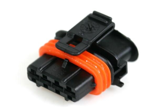 Prins VSI Bosch-Stecker für Drucksensor (am Filter) 4-polig (nur Gehäuse)