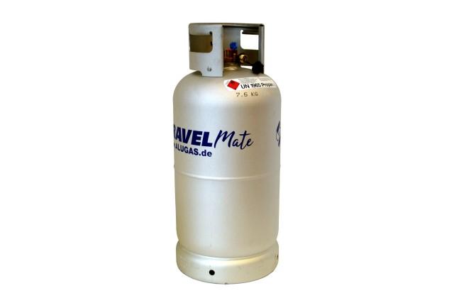 ALUGAS Travel Mate Tankflasche 33,3 Liter mit 80% Multiventil