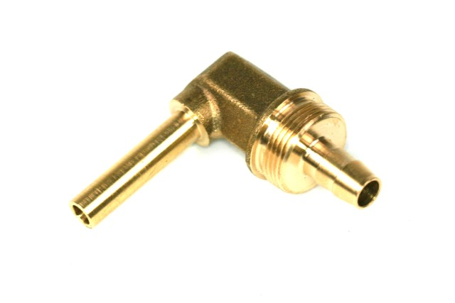 DREHMEISTER Winkelstück 90° Rohrstutzen 6mm für Flexleitung 8mm