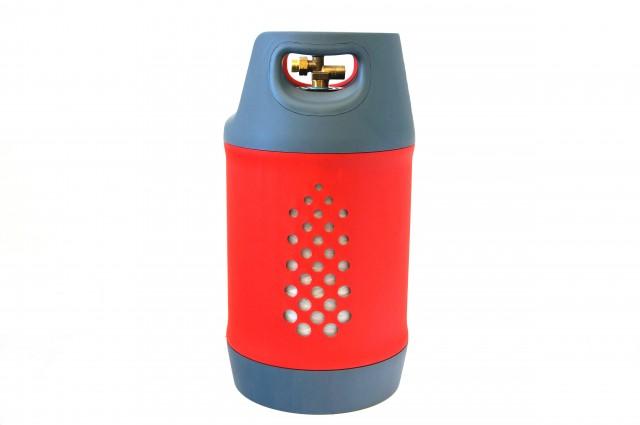 Komposit Tankflasche 24,5 Liter inkl. 80% Füllstop