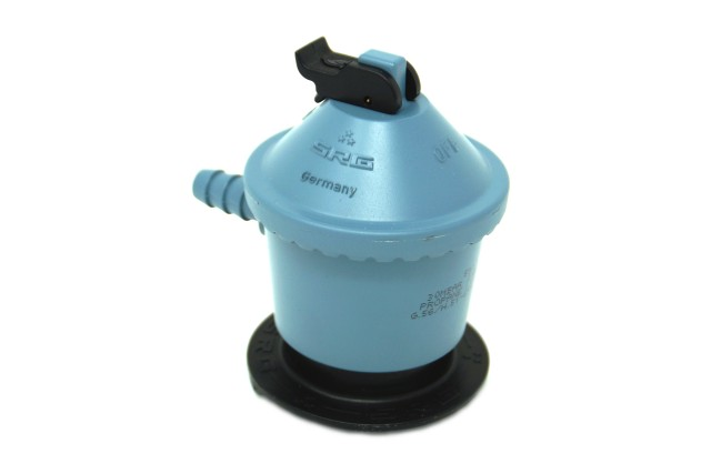 SRG regolatore 591 Jumbo (clip on) 30 mbar G.56 - tubo H.50 di 35 mm da 8 mm