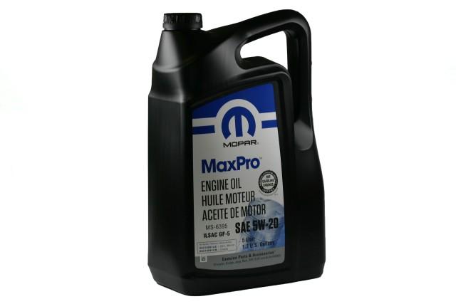 Mopar MaxPro 5W-20 Motoröl - 5L