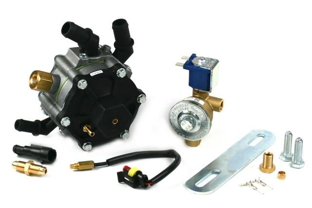 AC Verdampfer R02 bis 100KW inkl. Absperrventil und Montagezubehör