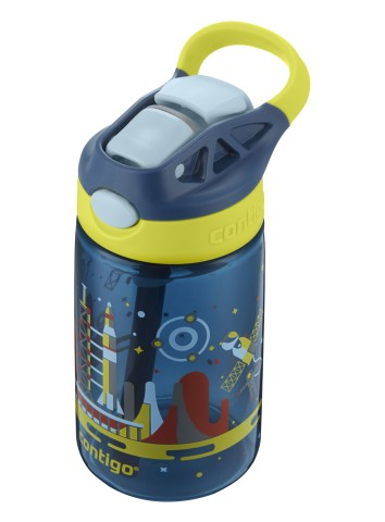 Contigo Gizmo Flip Nautical gourde, bouteille (Enfants) avec paille 420ml