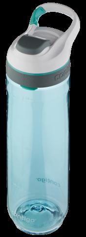 Contigo Autoseal Cortland botella de agua, botella de hidratación 720ml (Grayedjade)