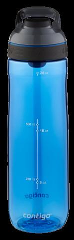 Contigo Autoseal Cortland botella de agua, botella de hidratación 720ml (Monaco Grey)