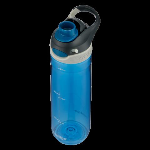 Contigo Chug Trinkflasche, Wasserflasche mit großer Trinköffnung 720ml (Monaco)