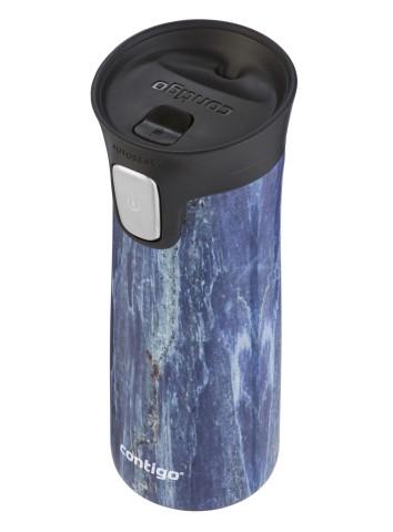 Contigo Autoseal Pinnacle Couture Thermobecher, Kaffeebecher to go 420ml (Blue Slate)