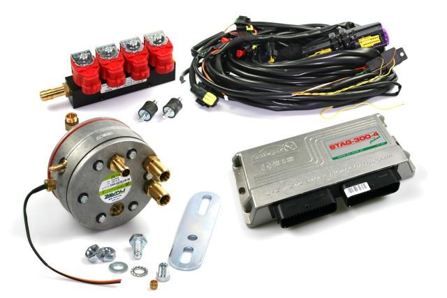 STAG 300 Premium (OBD) - 3/4 Zylinder