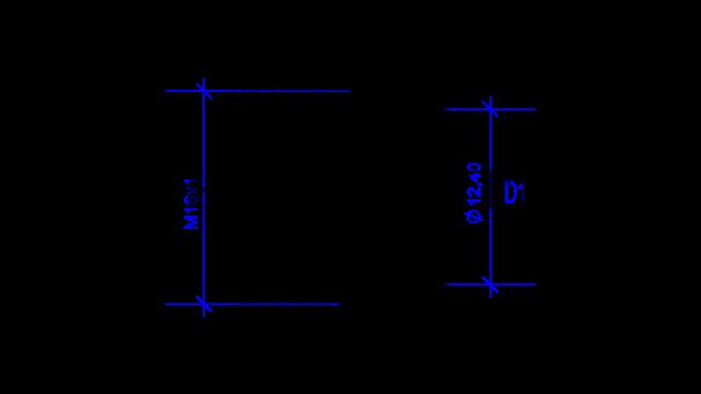 DREHMEISTER Überwurfmutter M16x1 für Flexleitung 8mm