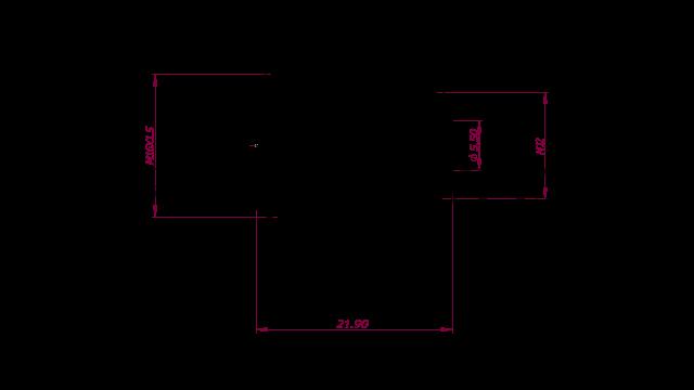 DREHMEISTER ACME LPG Adapter M12 - 76mm (Edelstahlanschluss)