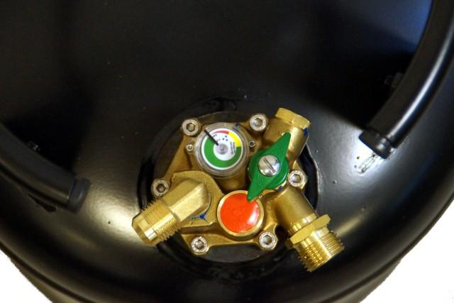 CAMPKO bombola del gas di combustione 30 L visto che multivalvola