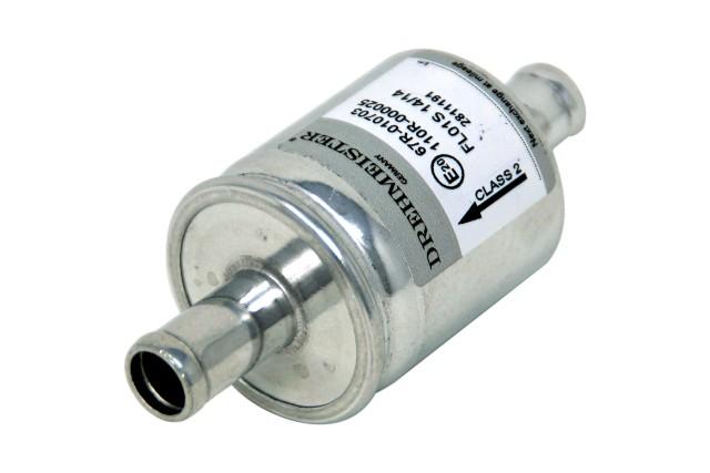 DREHMEISTER Gasfilter HS01S 16x16 mm