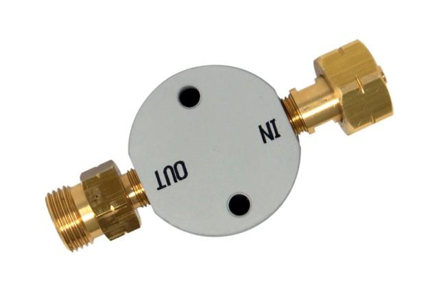 DREHMEISTER Gasflaschenfilter Smart W21,8 x 1/14 LH