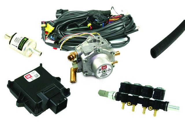 BRC LPG Gasanlage ALBA - 3/4 Zylinder - Frontkit