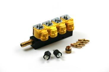 Valtek Type 30 rail pour injecteur 4 cylindress STD 1 ohm