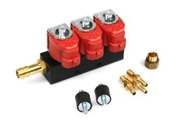 Valtek Type 30 rail pour injecteur 3 cylindress STD 3 ohms
