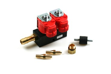 Valtek Type 30 rail pour injecteur 2 cylindress STD 3 ohms
