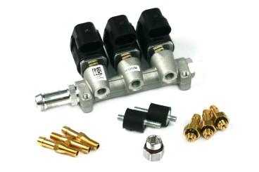 RAIL Injektor LPG CNG IG1 Apache 3 Zylinder 3 Ohm