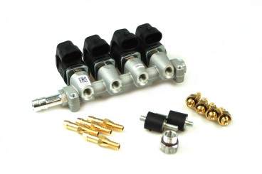 RAIL Injektor LPG CNG IG1 Apache 4 Zylinder 3 Ohm