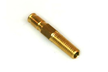 Boquilla roscada (vacío) M6 Ø 5 mm L. 34 mm