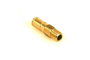 Boquilla roscada (vacío) M6 Ø 6 mm L. 22 mm