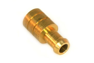 Hose coupling D16 mm D10 mm (brass)