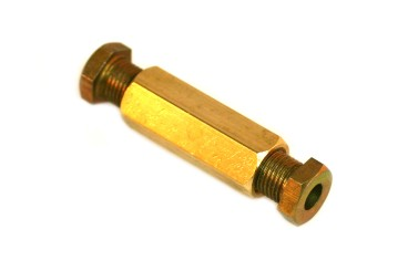 DREHMEISTER screw-in connection M10x1/M10x1 D6 mm (brass)