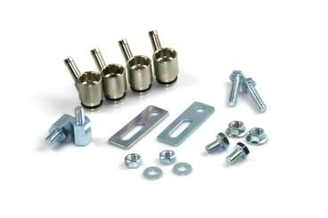 Kit d'adaptateur de buse d'essence 4 cylindress pour l'arrivée de gas - 1 joint BOSCH (14mm/6mm) inclus