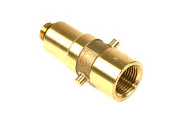 DREHMEISTER Bajonett LPG Adapter M14 - 72,8mm