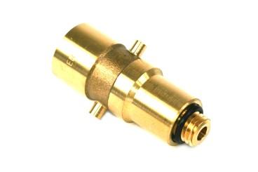 DREHMEISTER Bajonett LPG Adapter M12 - 72,8mm