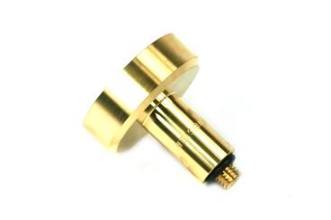 DREHMEISTER DISH filling point adapter 10 mm L=60 mm, brass