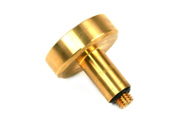 DREHMEISTER adattatore serbatoio DISH 12 mm L=60 mm, ottone