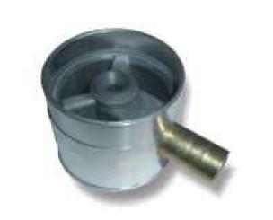Mischer (Durchfluss) gummiummantelt d. 50mm