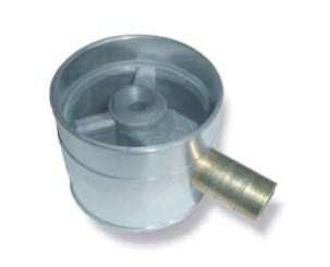 Mischer (Durchfluss) gummiummantelt d. 65mm