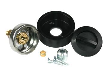 Tomasetto LPG Einfüllstutzen DISH inkl. Kunststoffgehäuse mit Deckel