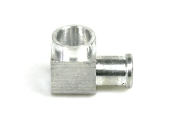 DREHMEISTER injector connector 90° for Keihin single injectors 12 mm