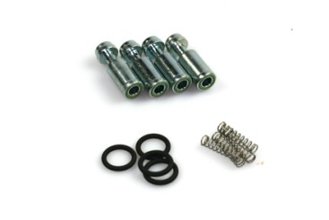 Bigas Reparatursatz 4 Zylinder Rail (schwarze Injektoren)