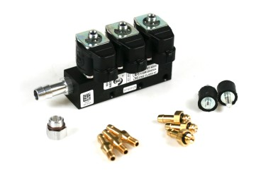 RAIL Injektor LPG CNG IG1 3 Zylinder BLACK BODY 3 Ohm (alte Version)