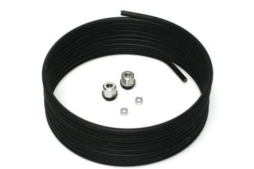Faro aluminium pipe 8 mm kit (6 m incl. fittings) 67R-01 homologated