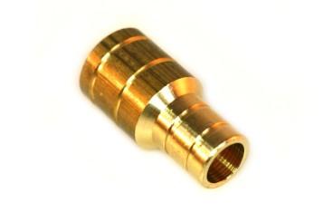 Raccord de tuyau (en laiton) D.22mm D.16mm