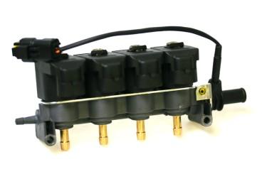 Tartarini Injektor LPG CNG 4 Zylinder EVO08G mit Temperatursensor